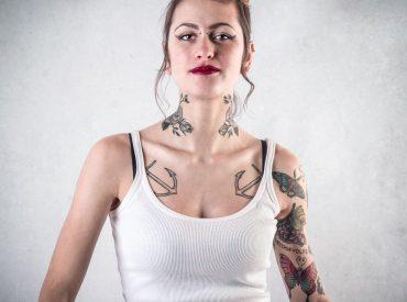 Catherlin Rusakovic fashion model