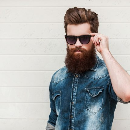 Hipster men fashion model 2016